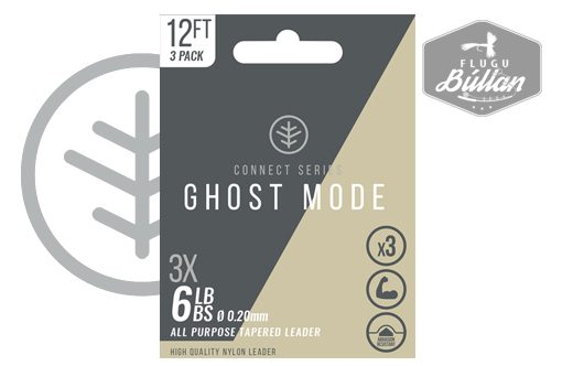 CONNECT SERIES GHOST MODE TAPERED LEADER - Flugubúllan