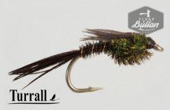 Turrall - Pheasant Tail Black - Flugubúllan