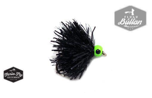 FF Beadhead Blob Black - Flugubúllan