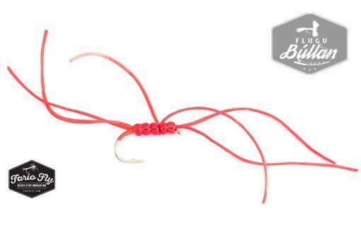 FF Crazy Worm Red - Flugubúllan