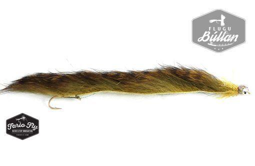FF Snake - 10cm Ólífu - Flugubúllan