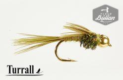 Turrall Pheasant Tail Olive BH - Flugubúllan