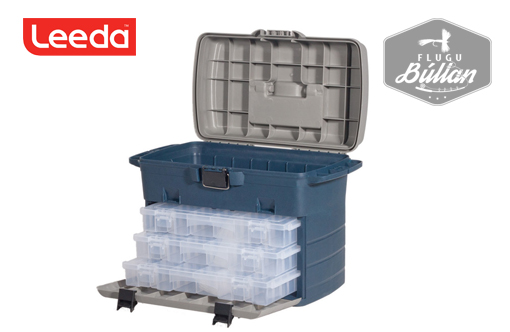 Leeda Tackle Case Box System - Flugubúllan