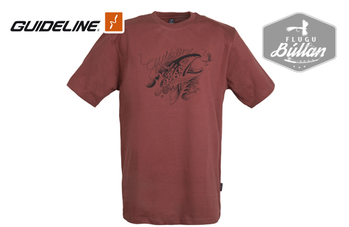 Guideline Angry Trout Eco tee - Flugubúllan