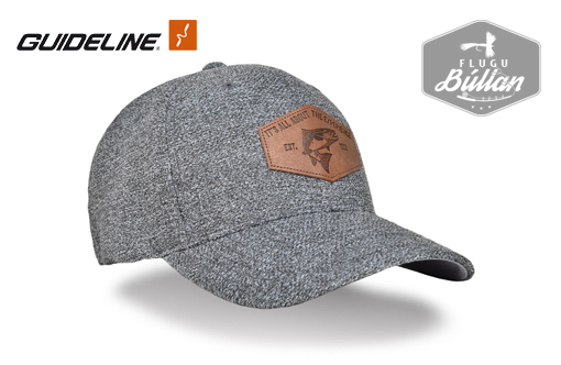 Guideline Flexfit Cap Est 93 L XL Dark Heather Gray - Flugubúllan