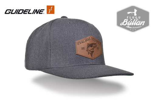 Guideline Flat Brim Cap Est 93 Dark Heather - Flugubúllan
