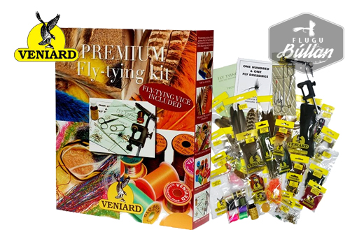 Veniard Premium fly tying kit - Flugubúllan