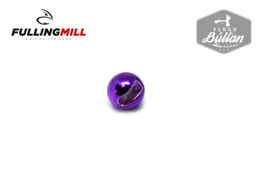 Fulling Mill Metallic Purple Slotted Tungsten Beads - Flugubúllan