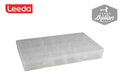 Leeda 5 Compartment Box - Flugubúllan