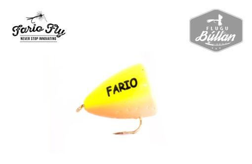 Fario Bung Chartreuse and Orange - Flugubúllan