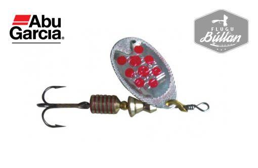 Abu Garcia Fast Attack spinner Silver Red - Flugubúllan