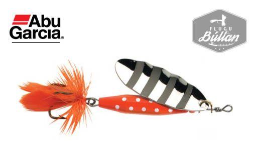 Abu Reflex Red Silver spinner - Flugubúllan